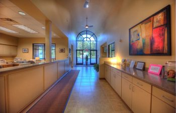 Gwinett Family Dental Care corridor