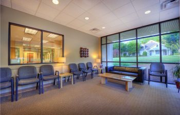 Gwinett Family Dental Care waiting room