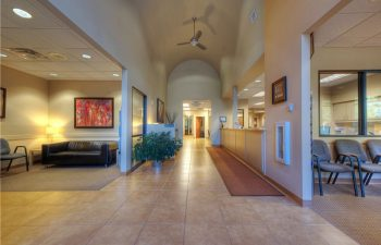 Gwinett Family Dental Care corridor and waiting room