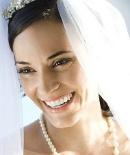 Bride in Wedding Veil, Lawrenceville, GA