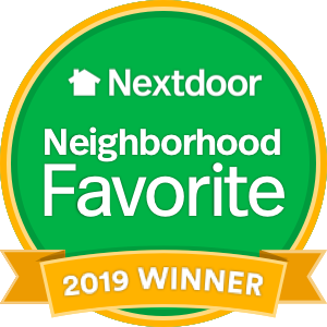 Nextdoor Neighborhood Favorite 2019 Winner Badge