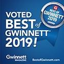 Voted Best of Gwinnett 2019