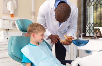 Child at Dentist, Lawrenceville, GA